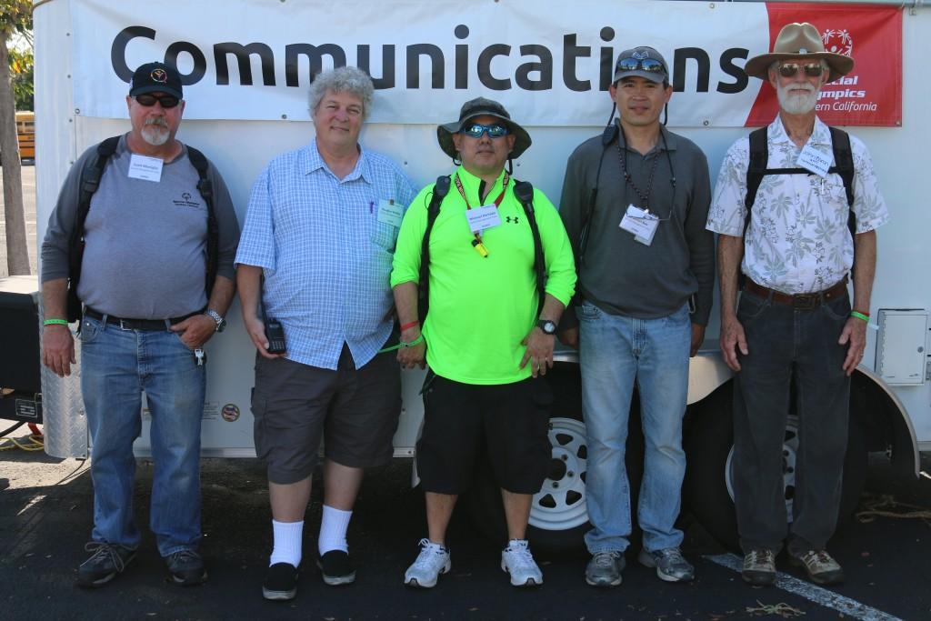 The W6TRW ARC crew